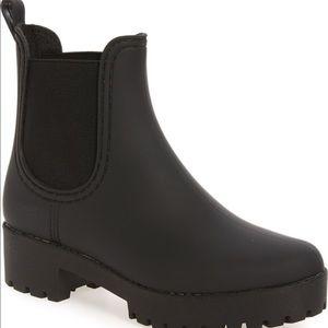 Jeffrey Campbell Black Waterproof Boots